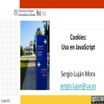 Cookies: uso en JavaScript