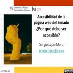 Accesibilidad de la página web del Senado: ¿por qué debe ser accesible?