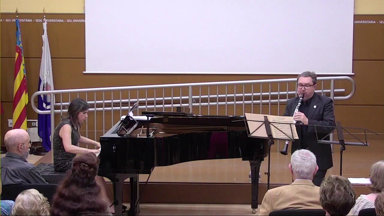 Concierto Dúo Clarinete Piano